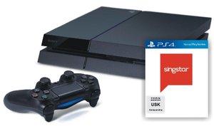 PlayStation 4 Konsole - 500 GB - inkl. Singstar Ultimate Party
