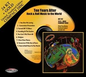 Ten Years After: Rock & Roll Music To The World-24k-Gold CD