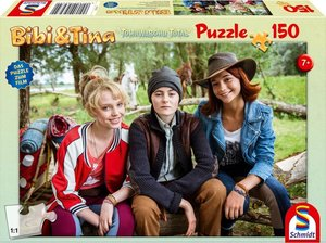 Bibi & Tina. Bibi, Tina und Adea. Puzzle zum Film 4. 150 Teile