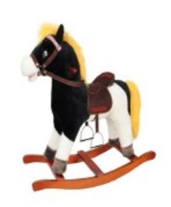 Knorrtoys 86405 - Yakari: Schaukelpferd Kleiner Donner mit Sound