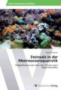 Steinsalz in der Meerwasseraquaristik