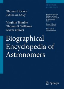 The Biographical Encyclopedia of Astronomers 1+2