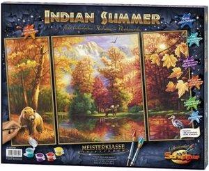 Schipper 609260650 - Indian Summer (Triptychon): MNZ, Malen nach