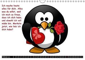 Stanzer, E: Pinguine im siebten Himmel! (Wandkalender 2015 D
