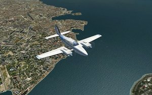 FSX Ground Enviroment X: East World Edition (Flight Simulator X)