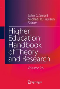 Higher Education: Handbook of Theory and Research 26
