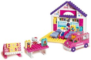 BIG 800057026 - PlayBIG BLOXX HELLO KITTY SCHULE