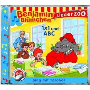 Benjamin Blümchen. Liederzoo. 1 x 1 und A, B, C. CD