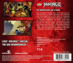 LEGO Ninjago-Tag der Erinnerungen