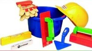 Spielstabil 7521 - Baumeister-Set mit 8-teiligem Zubehör