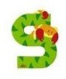 Sevi 81619 - Buchstabe: Skorpion, S