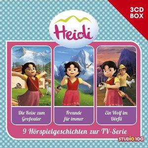 Heidi-3-CD Hörspielbox Vol.1 (Cgi)