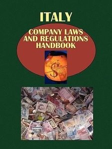 Italy Company Laws and Regulationshandbook