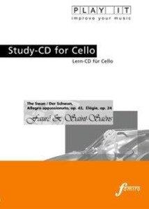 Study-CD Cello - Der Schwan,Allegro appassionato