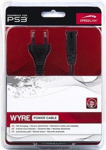 Speedlink SL-4425-BK WYRE Power Cable - Netzkabel für PS3/PS2, s
