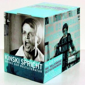 Box K.Kinski Werke D.Weltliteratur