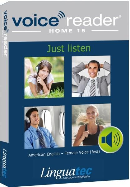 Voice Reader Home 15 Engl.-Amerikan./weibl. Stimme (Ava) - zum Schließen ins Bild klicken