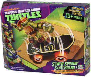 Stadlbauer Turtles Sewer Spinnin Skateboard ohne Figur