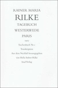 Tagebuch Westerwede und Paris, 1902