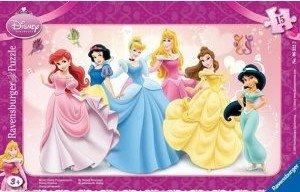 Ravensburger 06322 - Meine Disney Prinzessinnen, 15 Teile Rahmen