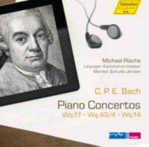 Klavierkonzerte Wq 17,Wq 43/4,Wq 14