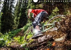 Mountain Bike 2015 by Stef. Candé / UK-Version (Wall Calendar 20