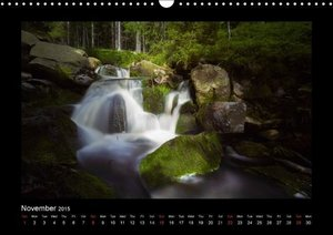 Mountain streams Wild and Romantic (Wall Calendar 2015 DIN A3 La