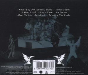 Never Say Die! (Jewel Case CD)