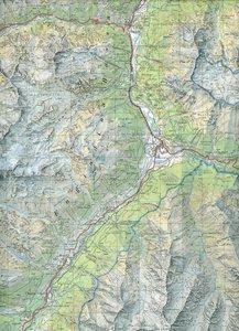 Swisstopo 1 : 50 000 Unterengadin Engiadina Bassa