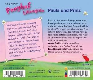 Ponyhof Liliengrün 02. Paula und Prinz