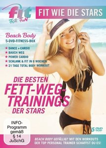 Fit for Fun - Fit wie die Stars: Die besten Fett-Weg Trainings