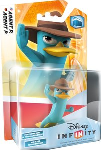 Disney INFINITY - Figur Single Pack - Agent P