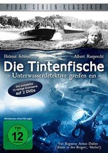 Die Tintenfische-Unterwasser