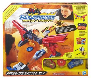 Hasbro A2509E27 - Beyblade BeyRaiderz: Fire-Gate Battle Set