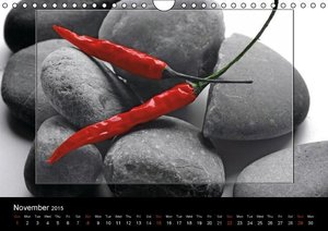 Hot Chili Calendar Great Britain Edition (Wall Calendar 2015 DIN