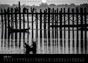 Myanmar - Eindrücke (Wall Calendar 2015 DIN A4 Landscape)