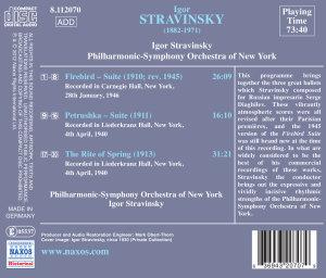 Strawinsky dirigiert Strawinsky