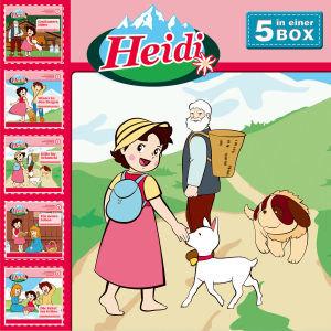 HEIDI - 5-CD HÖRSPIELBOX VOL.1