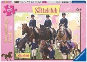 Ravensburger 10671 - Pferdeglück mit Sattelclub, Puzzle, 100 Tei