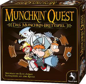 Pegasus 51950G - Muchkin Quest: Das Brettspiel