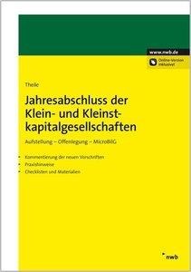Jahresabschluss der Klein- und Kleinstkapitalgesellschaften
