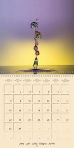 Missed moments - water drops (Wall Calendar 2015 300 × 300 mm Sq