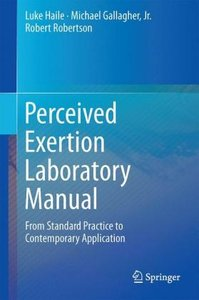 Perceived Exertion Laboratory Manual