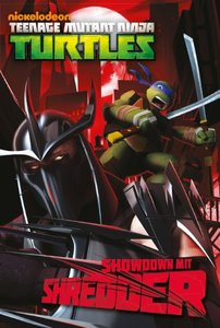 Teenage Mutant Ninja Turtles (Jugendroman). Showdown mit Shredde