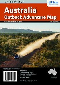 Australia Outback Adventure Map