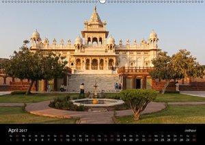 Indien, vom Taj Mahal zur Wüste Thar (Wandkalender 2017 DIN A2 q