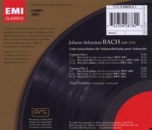 Cellosuiten BWV 1007-1012