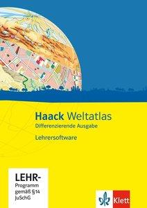 Haack Weltatlas Differenzierende Ausgabe. Lehrersoftware mit Lös