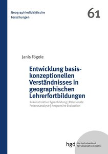 Entwicklung basiskonzeptionellen Verständnisses in geographische