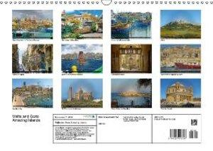 Malta and Gozo Amazing Islands (Wall Calendar 2015 DIN A3 Landsc